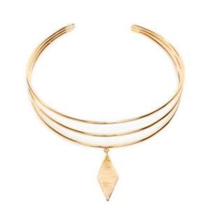$132 Vanessa Mooney Blondie Diamond Choker